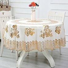 Tischdecke PVC Kunststoff Tischdecke Wasserdicht