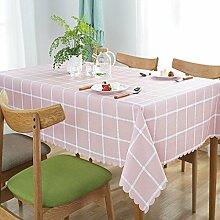 Tischdecke PVC-Tischdecke Rechteckige Tischdecke