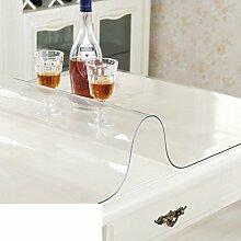 Tischdecke PVC Weichglas/Dining Schreibtischunterlagen/Wasserdichte Und Anti-eisen-plastik-tischtuch/Teetisch Matten-A 70x120cm(28x47inch)