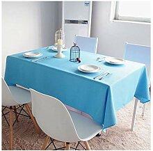 Tischdecke quadratisch einfarbig Polyester
