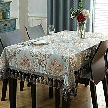 Tischdecke Rechteck Tischdecke europäischen Tuch