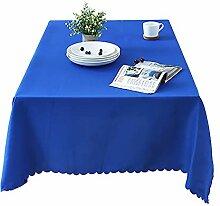 Tischdecke Rechteckig Polyester,Pure Farbe