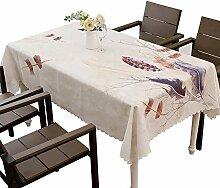 Tischdecke rechteckig polyestergewebe Dekorative