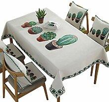 Tischdecke rechteckig polyestergewebe Perfekt für