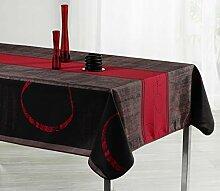 Tischdecke, rechteckig, schmutzabweisend,