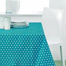 Tischdecke, rechteckig, trendigem Türkis 240140