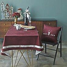 Tischdecke Rechteckig Weihnachten Waschbare