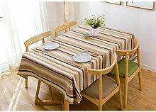 Tischdecke - Rechteckige Runde Tischparty