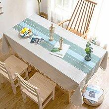 Tischdecke Rechteckige Tischdecke Aus