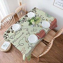 Tischdecke Rechteckige,Tischdecken Baumwolle