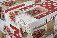Tischdecke Red Tomato Tischtuch Tischwäsche