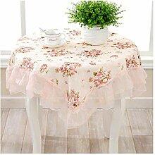 Tischdecke, romantische und Elegante kleine