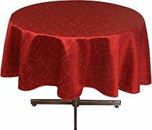 Tischdecke rund 180 cm FIESTA ro