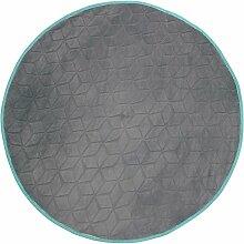 Tischdecke, rund, 90 cm, Motiv Venours,