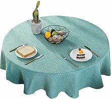 Tischdecke Rund Linen & Cotton Tischwäsche