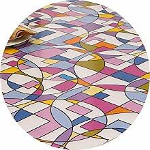 Tischdecke Runde Tischdecke, Crystal Plate
