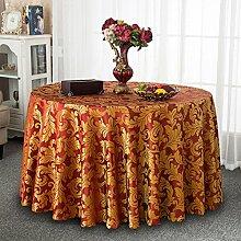 Tischdecke Runde Tischdecke, Esstisch Tischdecke