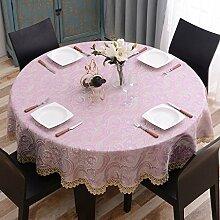 Tischdecke Runde Tischdecke europäischen Tuch