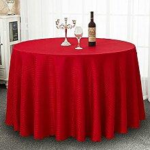 Tischdecke Runde Tischdecke, Hoteltuch Restaurant
