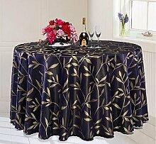 Tischdecke Runder Tisch-Hotel-Tischdecke-Tuch-Hotel-großer runder Tabellen-Tuch-Kaffeetisch-Bankett-Hochzeits-Tabellen-Tuch-Gewohnheit ( Farbe : C , größe : 120*180cm )