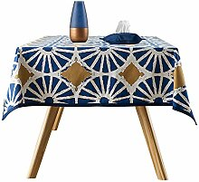 Tischdecke runder Tisch Tischdecke Tischfahne