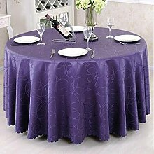 Tischdecke Runder Tischtuch European Style Pastoral Tisch Tischdecke Stoff Tisch Tischdecke Couchtisch Stoff Stoff Stoff Runde ( Farbe : A , größe : 180*180cm )