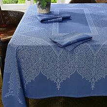 Tischdecke: Schmutzabweisende Teflon-Beschichtung