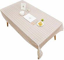 Tischdecke schwarz und weiß Stil einfache moderne