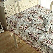 Tischdecke, Spitze, Blume, für Kaffee, Esszimmer,