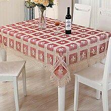 Tischdecke, Spitze Stoff Tischdecke Für Küche