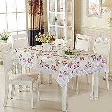 Tischdecke Spitzen-Druck EVA hohe Tischdecken (