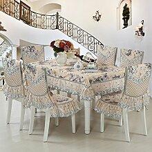 Tischdecke/Spitzen Sie Tischdecke/Tee Tischdecke/Chair Cover/Europäische Tischdecke-C 130*180cm(51x71inch)