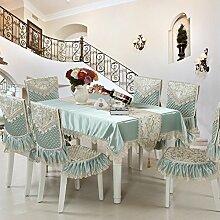 Tischdecke/Spitzen Sie Tischdecke/Tee Tischdecke/Chair Cover/Europäische Tischdecke-A 130*180cm(51x71inch)