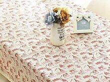 Tischdecke Stoff Baumwolle kleine frische