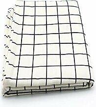 Tischdecke Stoff Baumwolle und Leinen kleinen
