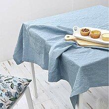 Tischdecke Stoff Baumwolle und Leinen Quadrat