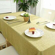 Tischdecke Stoff Einfache Moderne Gitter