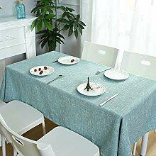 Tischdecke Stoff Einfache Moderne Plaid Tischdecke