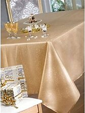 Tischdecke Stoff rechteckig 150x 200cm kimberlay Gold