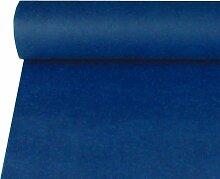 Tischdecke, stoffähnlich, Vlies 10 m x 1,2 m blau