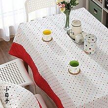 Tischdecke Stoffe aus baumwolle, leinen tischdecke Tee tischdecke-A 80x130cm(31x51inch)