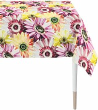 Tischdecke Summergarden Apelt Farbe: Gelb/Rosa