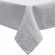 Tischdecke/Tafeldecke mit Saum, Ornamente im