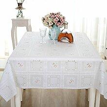 Tischdecke/tee tischdecke/tischtuch/tischtuch/einweg,wasserdicht,Öl-beweis,pvc tischdecke-A 137x190cm(54x75inch)