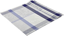 TISCHDECKE Textil Blau 130/160 cm