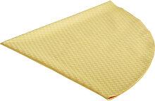 TISCHDECKE Textil Gelb 170 cm