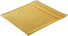 TISCHDECKE Textil Jacquard Gelb 135/170 cm
