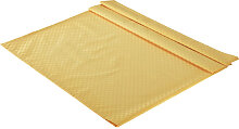 TISCHDECKE Textil Jacquard Gelb 135/220 cm