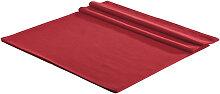 TISCHDECKE Textil Leinwand, Struktur Rot 150/250 cm