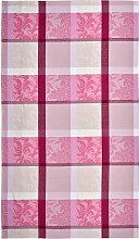 TISCHDECKE Textil Rosa 150/250 cm